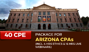 40 CPE Package for Arizona CPAs