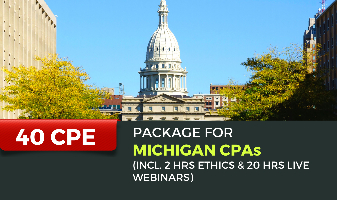 40 CPE Package for Michigan CPAs