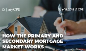 How the Primary and Secondary Mortgage Markets Work
