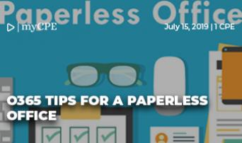 O365 for a Paperless Office