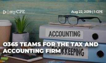 O365 Teams for the Tax & Accounting Firm