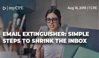 Email Extinguisher - Simple Steps to Shrink the Inbox.
