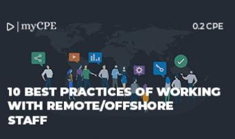 10 Best Practices of Working with Remote/Offshore Staff