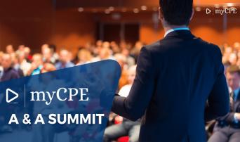 myCPE A&A Summit