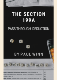 The Section 199A Pass-Through  Deduction