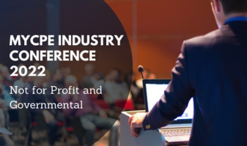 myCPE Industry Conference 2021 - Not for Profit and Governmental