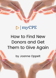 CPE E-Book Course on Donors