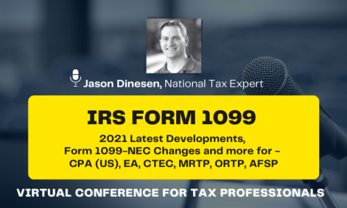 CPE Virtual Conference on Form 1099