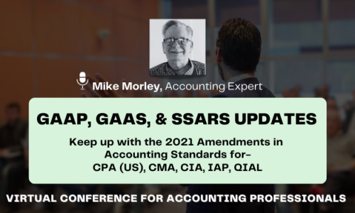 CPE Virtual Conference on GAAP, GAAS, and SSARS