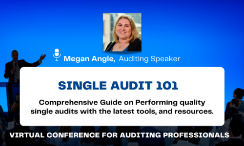 Single Audit 101 Fundamentals CPE Conference