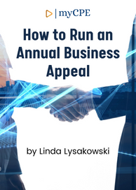 Annual Business Appeal CPE Course