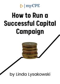 Successful Capital Campaign CPE Course