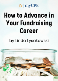 Advance in Your Fundraising Career