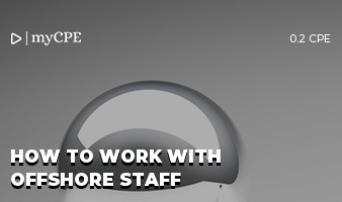 HOW TO WORK WITH OFFSHORE STAFF