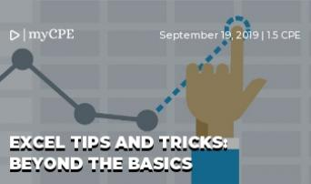 Excel Tips & Tricks: For every Accountant, CPA, Bookkeeper, Tax Professional, Auditor, & Controller