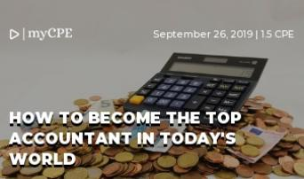 How to become the top accountant in today's world
