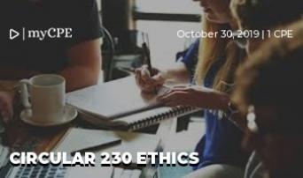 Circular 230 Ethics