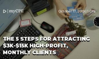 The 5 steps for attracting $3K-$15K high-profit, monthly clients