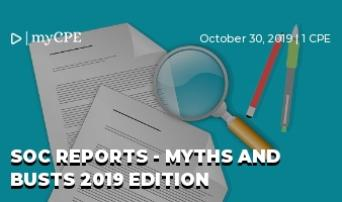 SOC Reports - Myths and Busts 2019 edition
