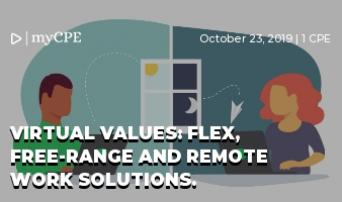 Virtual Values: Flex, Free-Range and Remote Work Solutions