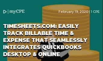 TIMESHEETS.COM: EASILY TRACK BILLABLE TIME & EXPENSE THAT SEAMLESSLY INTEGRATES QUICKBOOKS DESKTOP & ONLINE