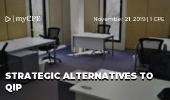 Strategic Alternatives to QIP