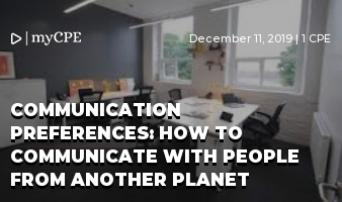 Communication Preferences: How to Communicate with People from Another Planet