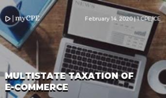 Multistate Taxation of E-Commerce