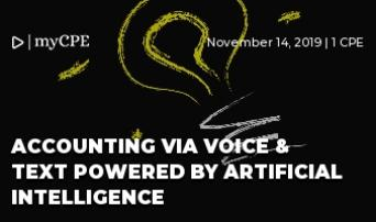 ACCOUNTING VIA VOICE & TEXT POWERED BY ARTIFICIAL INTELLIGENCE