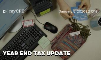 Year end tax update (Latest 2019)