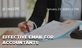 Effective Email for Accountants