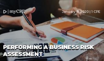 Performing a Business Risk Assessment