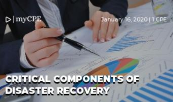 Critical Components of Disaster Recovery