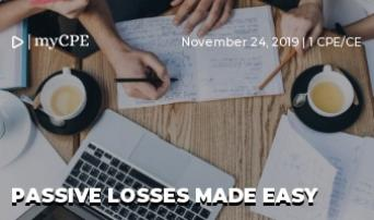 Passive Losses Made Easy