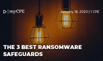 The 3 Best Ransomware Safeguards