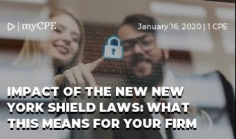 Impact of the new New York Shield laws: What this means for your firm