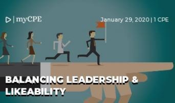 Balancing Leadership & Likeability