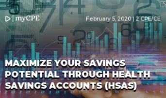 MAXIMIZE YOUR SAVINGS POTENTIAL THROUGH HEALTH SAVINGS ACCOUNTS (HSAS)