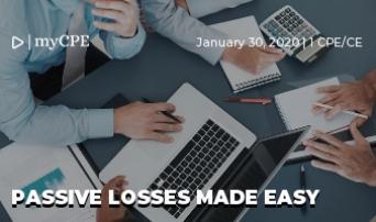 Passive Losses Made Easy