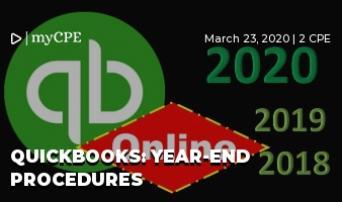 QuickBooks: Year-end Procedures