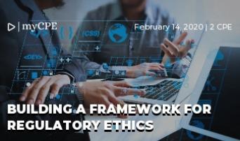 Building a Framework for Regulatory Ethics