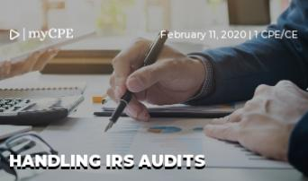 Handling IRS Audits