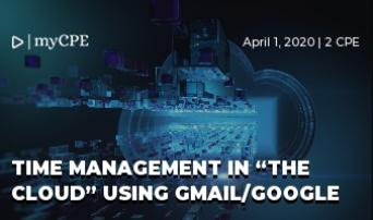 "Time Management in ""The Cloud"" Using Gmail/Google"