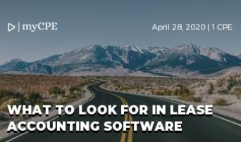 Lease Accounting Software:  Identifying What's Important