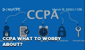 CCPA What to Worry about?