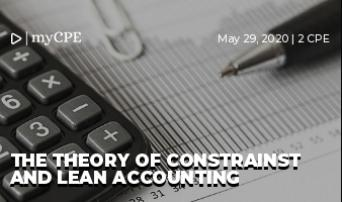 The Theory of Constraints and Lean Accounting