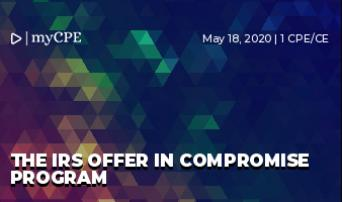 The IRS Offer in Compromise Program