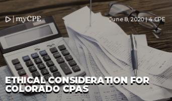 Ethical Consideration for Colorado CPAs
