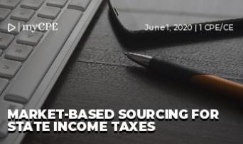 Market-Based Sourcing for State Income Taxes