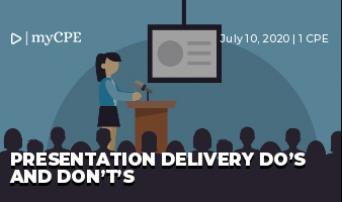 Presentation Delivery Do's and Don't's